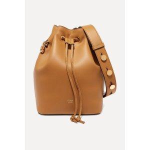 FendiMon Tresor leather bucket bag