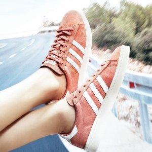 低至5折+额外67折 £46收杨幂同款Adidas 官网大促女士专区折上折 今夏必备的潮鞋全在这
