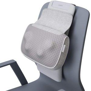 €44.99+包邮 久坐不酸痛Naipo 肩颈背可加热按摩枕 适用几乎所有椅子 高度可调