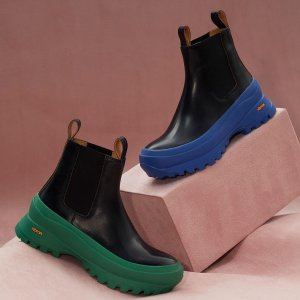 2折起+叠8折 罗意威芭蕾鞋 $773Matchesfashion 时尚美鞋专区 Jil sander厚底小白鞋$622