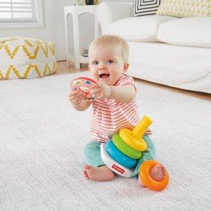 费雪婴儿叠叠乐玩具