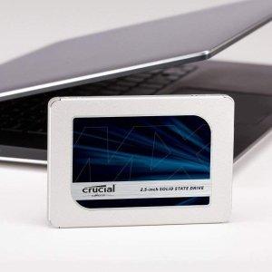 $265.99(原价$299.95)Crucial MX500 2TB 3D NAND SATAIII 固态硬盘