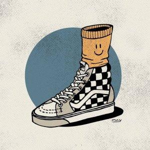 低至4.7折!€26收棋盘格拖鞋限今天:Vans 酷潮滑板鞋热促 经典棋盘格百穿不厌 还有懒人一脚蹬