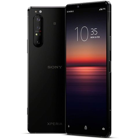 Xperia 1 II smartphone with triple camera system