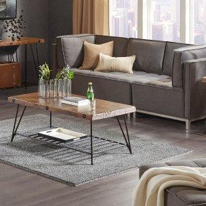 Designer Living Trestle Coffee Table