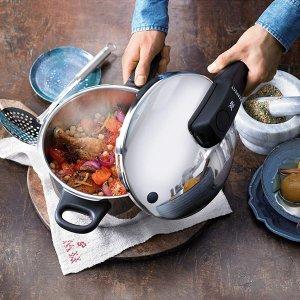 5.6折起 超低价€39.9收7L大锅Amazon 高压锅限时折 节能省时营养又健康 炖汤炖肉不在话下