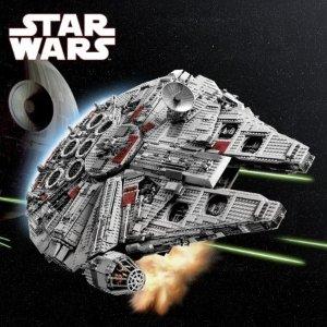 折后€119.99 来穿梭星际啦LEGO 75257 星球大战系列 千年隼号 宇宙中最著名的飞船