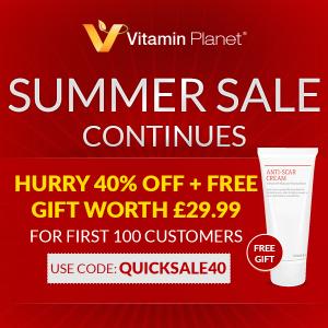 前100名无门槛6折+£29.99免费好礼Vitamin Planet 夏日大促升级 科学减肥减肥 成分党最爱的美白补水