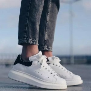 Up to $300 OffAlexander McQueen Leather Platform Sneakers @ Saks Fifth Avenue