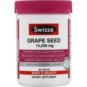 SwisseUltiboost, Grape Seed, 14,250 mg, 300 Tablets
