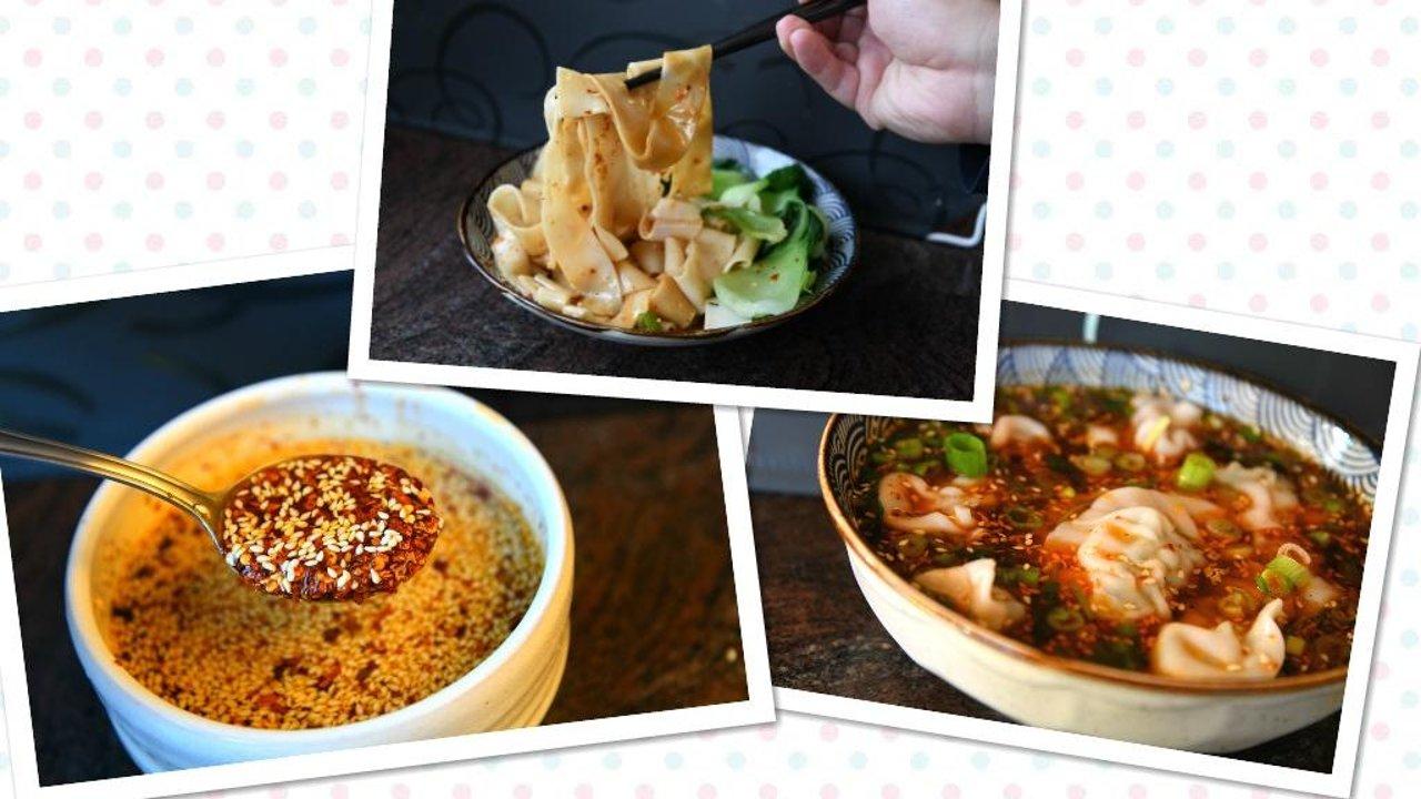 酸汤水饺、油泼扯面和油泼辣子间扯不断理还乱的纠葛