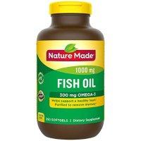 Nature Made 含OMGA3鱼油 300 mg 250粒