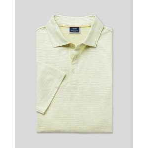 Charles Tyrwhitt3 pieces for $117Herringbone Cotton Linen Polo - Apple Green
