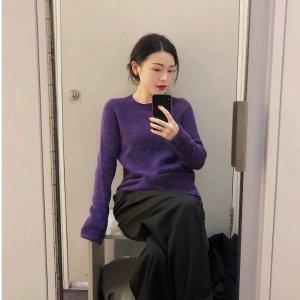 & Other StoriesWool 紫色小毛衣