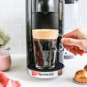 3.8折 $93.49(原价$249)Nespresso 意式胶囊咖啡机 家里秒变温馨咖啡馆