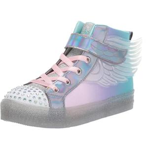 $34.58起(原价$71.43)Skechers 大童女款 翅膀渐变高帮运动鞋 US2码