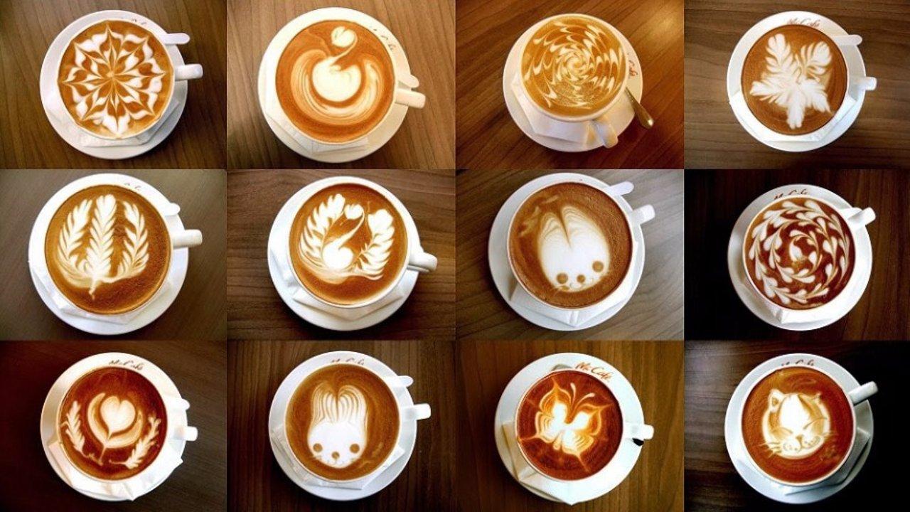 教你做几种跟男/女票展示Bigger的咖啡!