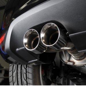 声浪太强不晃会被撞到地上《汽车频道改装部》简单说说汽车排气改装