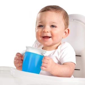 $5.73(原价$7.99)Munchkin Miracle 360° 幼儿学饮杯7盎司  牙医推荐产品
