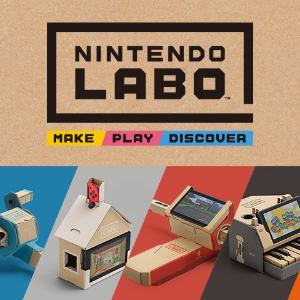 目前最低$93.1 看小编入手视频任天堂 Switch Nintendo Labo 已发售