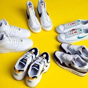 全场3折起 Nike小白鞋£25Nike、adidas、新百伦等球鞋专场大促 最火潮流球鞋超吸睛