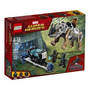 LegoMarvel Super Heroes Black Panther Rhino Face-Off by the Mine (76099)