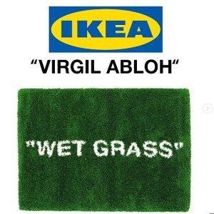 明日公开发售 £124拿下封面款地毯IKEA X Off white 全新系列联名 再度起航