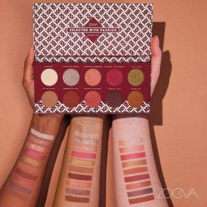 限时8折+直邮中国ZOEVA 美妆精选热卖   收南瓜盘、可可盘、玫瑰金盘