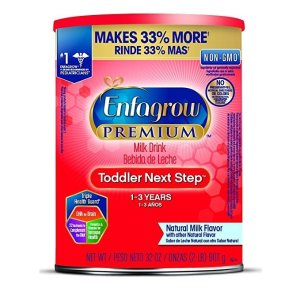 $99.64Enfagrow PREMIUM Toddler Next Step Natural Milk Powder, 32 Ounce Can, Pack of 6 (package may vary ) @ Amazon