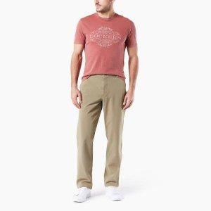 DockersMen's Downtime Khaki Pants, Classic Fit