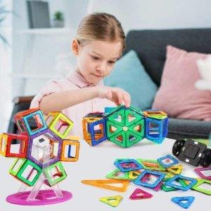 $33.22(原价$50.99)近期好价:AMOSTING 磁力片100个装 彩色创意 大儿童也喜欢哦