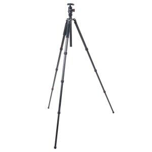 $169FotoPro X-Go 炭纤维三脚架 + 内置独脚架 + 云台