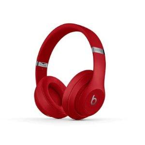 BeatsStudio3 红色