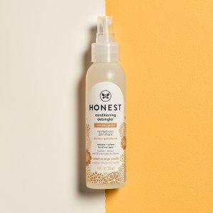 $4.75(原$7.99)The Honest 甜橙护发喷雾118ml 解决发尾打结 毛躁问题