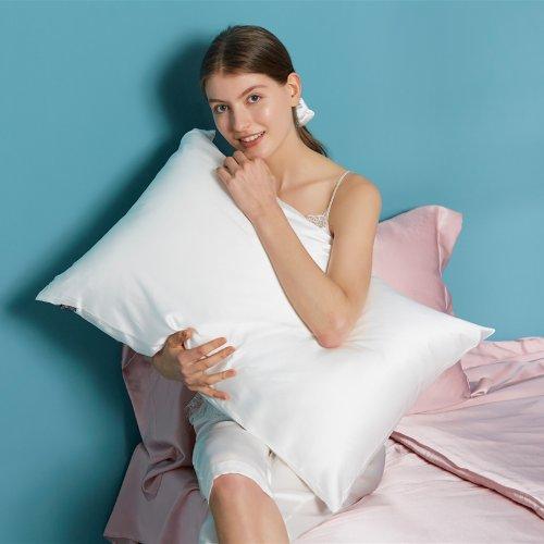 LILYSILK真丝衬衫+真丝枕套(众测)