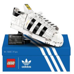 一双$144.99包邮,9折LEGO adidas 三叶草 Superstar鞋 10282