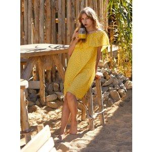 Petite Mendigote淡黄的长裙