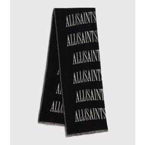 ALLSANTS羊毛logo围巾