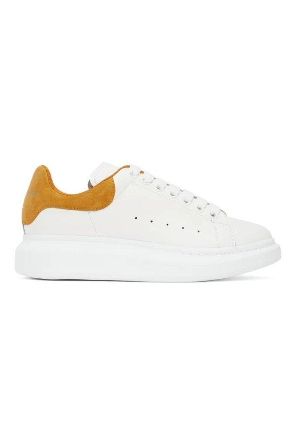 男款黄尾小白鞋