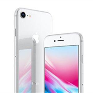 iPhone 买一送一通过AT&T Next 购 iPhone 8、8 Plus