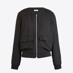 J.CrewDrapey collarless jacket : FactoryWomen Jackets | Factory