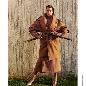 5折起 £156收泰迪熊大衣The Kooples 大衣、西装大促 低调有气质 秋冬法式淑女必备