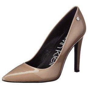 现价$19.97(原价$109)Calvin Klein 裸色气场款高跟靴热卖 6.7码