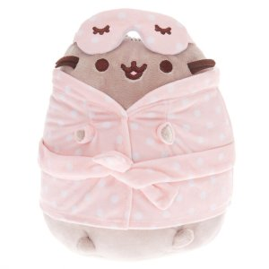 Pusheen® Medium Sleepover Plush Toy – Pink