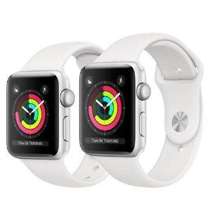 GPS款 $259起 蜂窝款 $389起Apple Watch Series 3 智能手表 官方降价