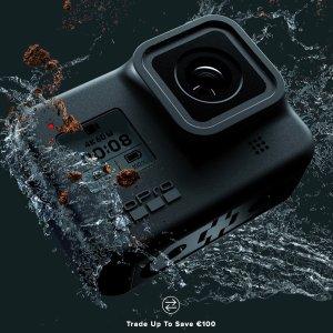 折后€289 绝佳的入手时机史低价:GoPro Hero8 4K运动相机热促 Hypersmooth超强防抖