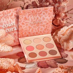 ColourpopCoast to Coral -眼影