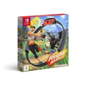 Nintendo+买Switch游戏机立减€40健身环大冒险