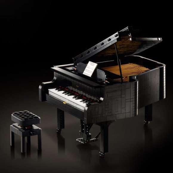 ideas系列 三角钢琴 21323,可弹奏