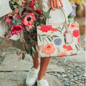 8折 清新的花朵小仙女风kate spade 精选印花、小碎花系列单品热卖
